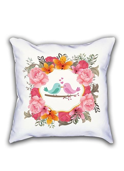 Madame Majori Dekoratif Yastık Kılıfı Renkli